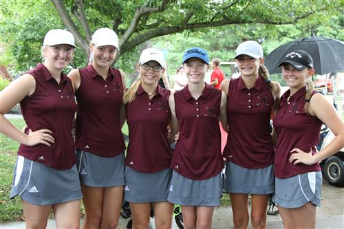 Girls' Golf Team 2017-18