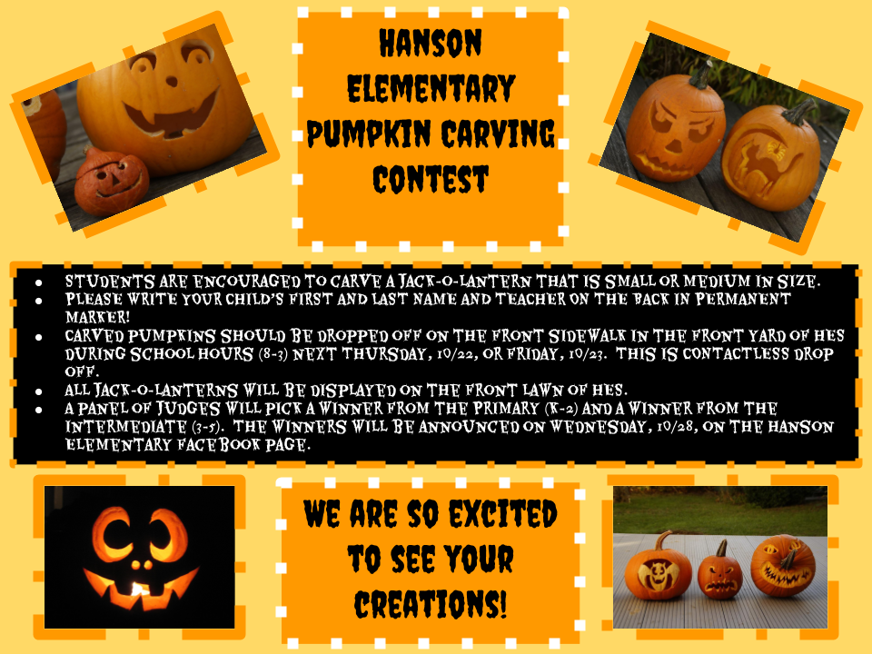 HES Pumpkin Carving Contest