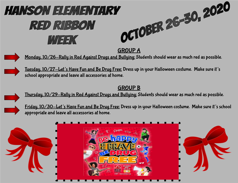 HES Red Ribbon/ Safe Schools Week