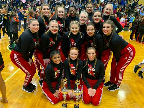 Hopkins County Central High Voltage KDCO STATE CHAMPS IN POM AND HIP HOP!! We are so proud of them!