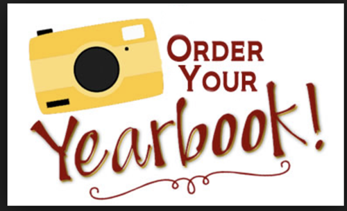 YEARBOOKS ON SALE---Click Here & ORDER TODAY!