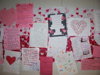 Valentines Displayed