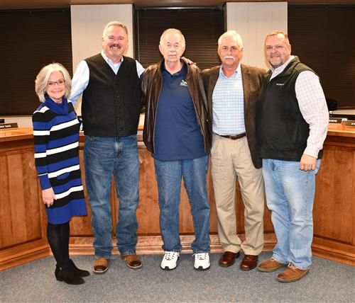 Hopkins County School Board members