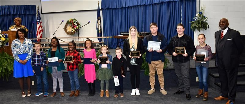 MLK Essay Contest Winners