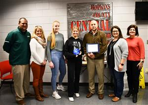 Hopkins County Central receives award
