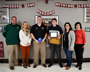 Madisonville North Hopkins receives award.